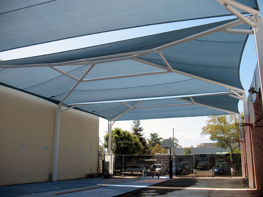 Free Standing Canopies Architectural Fabric Shade