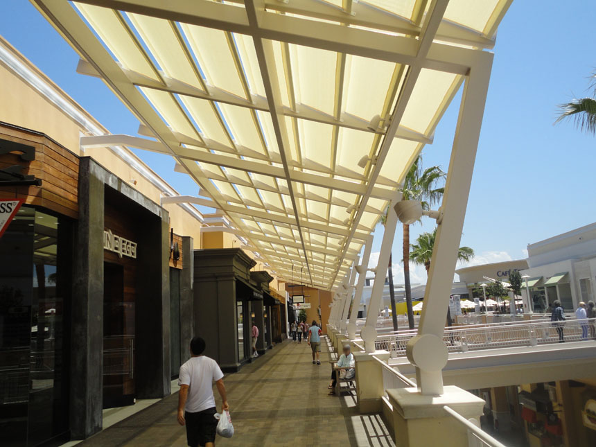 Walkway Coverings - Architectural Fabric Shade Structures ...