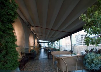 Retractable Canopy System - Closed