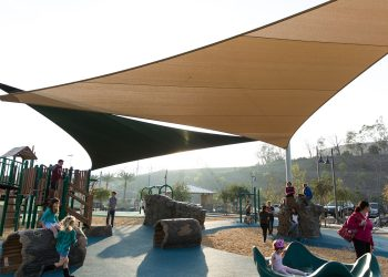Tensioned Shade Sails
