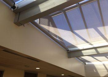 Kinetic Skylight Shade Panels